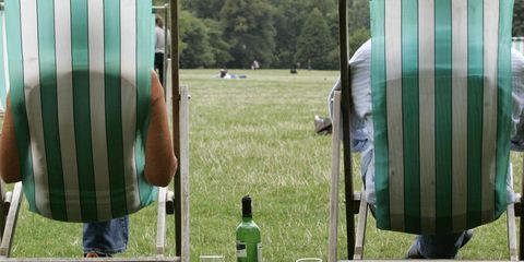 Bottle, Denim, Outdoor furniture, Park,