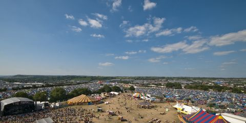 Tourism, Aerial photography, Sand, Shade, Bird's-eye view, Tent,
