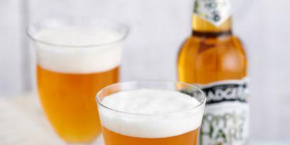 Beer, Drinkware, Drink, Yellow, Serveware, Glass, Alcoholic beverage, Alcohol, Barware, Liquid,