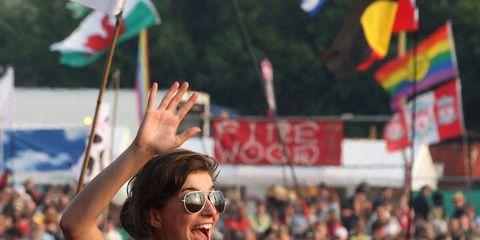Eyewear, Vision care, Human, Glasses, People, Crowd, Flag, Sunglasses, Audience, Summer,