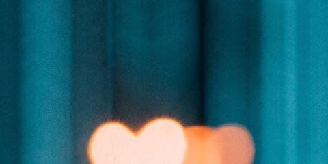 Light, Orange, Heart, Organ, Hand, Finger, Love,