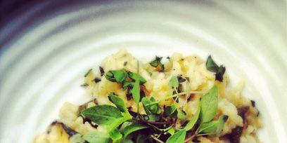 Food, Recipe, Cuisine, Ingredient, Dishware, Dish, Garnish, Staple food, Comfort food, Risotto,