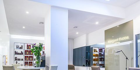 Floor, Lighting, Interior design, Room, Flooring, Wall, Ceiling, Furniture, Interior design, Grey,
