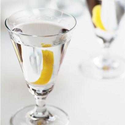 Margot Henderson's easy gin or vodka martini