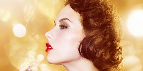 Lip, Eyelash, Style, Beauty, Jewellery, Neck, Perfume, Eye liner, Sleeveless shirt, Drinking,