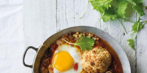 Food, Egg yolk, Ingredient, Dish, Recipe, Egg white, Kitchen utensil, Meal, Cutlery, Cuisine,