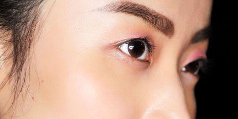 Finger, Lip, Cheek, Brown, Skin, Eyelash, Forehead, Eyebrow, Nail, Manicure,