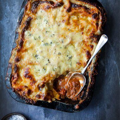 Three cheese lasagne recipe