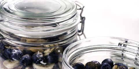 Food, Ingredient, Food storage containers, Mason jar, Serveware, Home accessories, Produce, Lid, Dishware, Food storage,