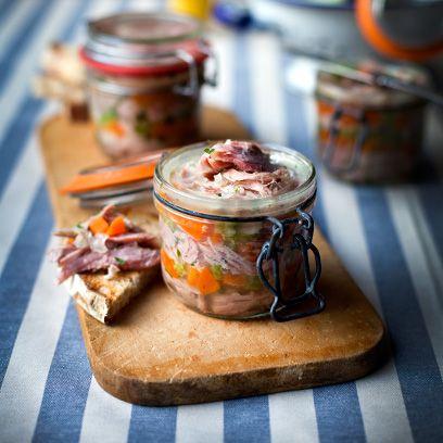 Dish, Food, Cuisine, Ingredient, Mason jar, Rillettes, Recipe, Produce, Salad, Parfait,