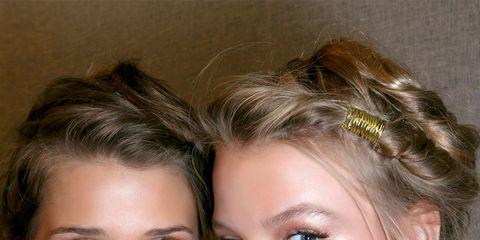 Ear, Nose, Lip, Hairstyle, Chin, Forehead, Eyebrow, Eyelash, Fashion accessory, Earrings,