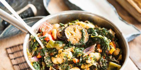 Dish, Food, Cuisine, Ingredient, Vegetable, Produce, Leaf vegetable, Recipe, Vegetarian food, Meat,