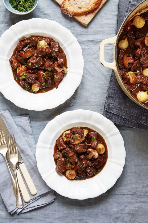 Mary Berry's beef bourgignon recipe