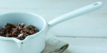 Food, Cuisine, Ingredient, Tableware, Dish, Serveware, Dishware, Spoon, Kitchen utensil, Breakfast,