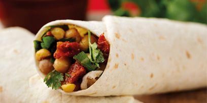 Food, Cuisine, Sandwich wrap, Fast food, Dish, Flatbread, Recipe, Kati roll, Corn tortilla, Wrap roti,