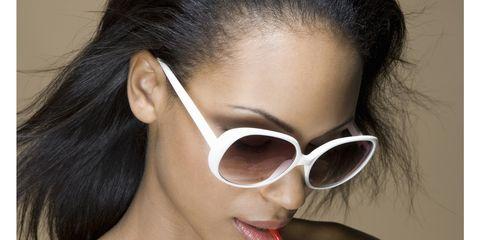 Eyewear, Vision care, Lip, Finger, Earrings, Hairstyle, Skin, Shoulder, Joint, Beauty,