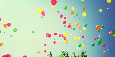 Colorfulness, Party supply, Pink, Balloon, Circle, Sphere,