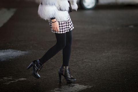 In praise of wearing black tights