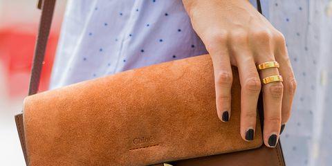 Brown, Textile, Fashion accessory, Bag, Wrist, Pattern, Tan, Shoulder bag, Fashion, Khaki,