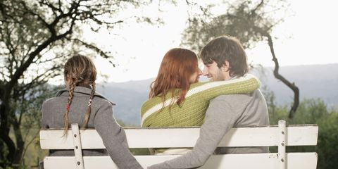 Sitting, Tree, Comfort, People in nature, Leisure, Interaction, Love, Romance, Outdoor furniture, Friendship,