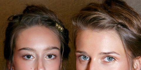 Nose, Ear, Hairstyle, Skin, Earrings, Chin, Forehead, Eyebrow, Eyelash, Jewellery,