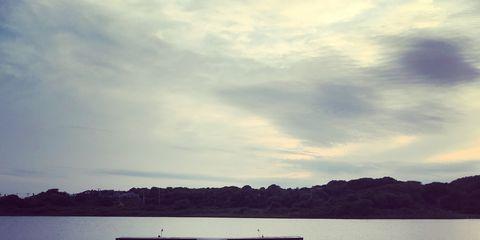 Cloud, Water, Horizon, Dock, People in nature, Pier, Reflection, Lake, Boardwalk, Sea,