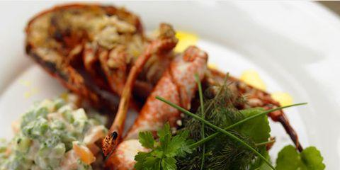 Food, Ingredient, Dishware, Cuisine, Dish, Tableware, Recipe, Seafood, Leaf vegetable, Serveware,