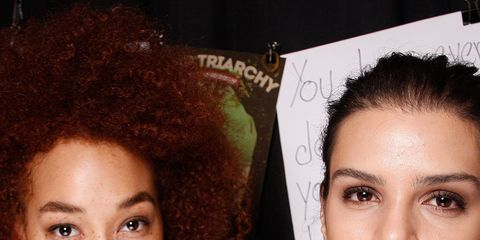 Lip, Cheek, Finger, Brown, Hairstyle, Skin, Jheri curl, Chin, Forehead, Eyebrow,