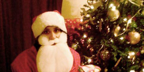 Event, Christmas decoration, Fictional character, Santa claus, Christmas eve, Holiday, Christmas tree, Christmas, Interior design, Christmas ornament,