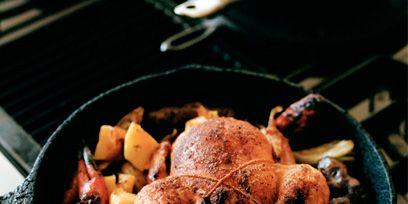 Food, Ingredient, Cooking, Cuisine, Recipe, Hendl, Cookware and bakeware, Tableware, Turkey meat, Dish,