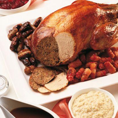 Mary Berry's roast turkey | Christmas roast recipes | Christmas Day Lunch Recipes