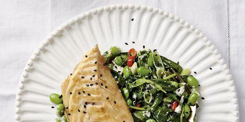 Food, Cuisine, Ingredient, Dishware, Leaf vegetable, Dish, Tableware, Plate, Produce, Recipe,