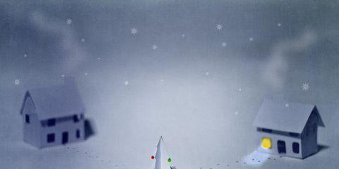 Winter, Slope, House, Space, Atmospheric phenomenon, Snow, Geological phenomenon, Freezing, Home, Roof,