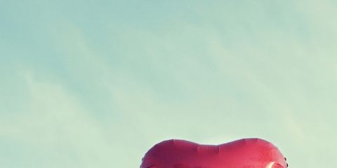 Blue, Balloon, Red, Atmosphere, Magenta, Pink, Colorfulness, Heart, Light, Carmine,