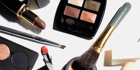 Brush, Eye shadow, Cosmetics, Makeup brushes, Beauty, Eye, Product, Brown, Eye liner, Makeup artist,