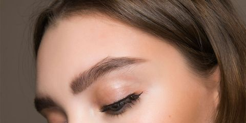 Face, Eyebrow, Hair, Cheek, Eyelash, Lip, Nose, Eye shadow, Eye, Skin,