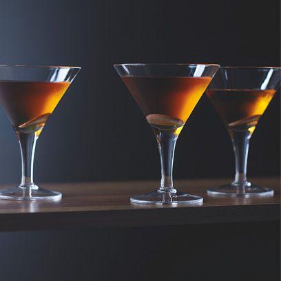Winter chocolate martini
