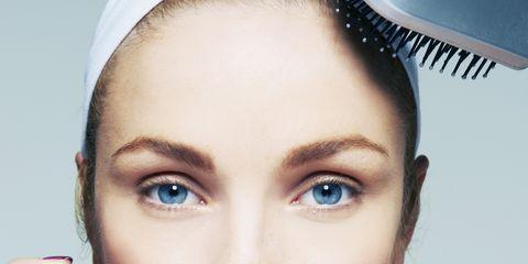 Finger, Lip, Brown, Skin, Eye, Forehead, Eyebrow, Eyelash, Nail, Beauty,