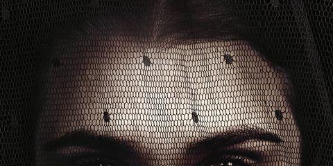 Lip, Cheek, Chin, Forehead, Eyebrow, Text, Monochrome, Poster, Monochrome photography, Black-and-white,