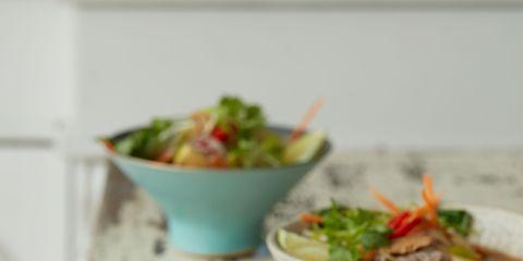 Food, Bowl, Serveware, Dishware, Ingredient, Tableware, Recipe, Salad, Mixing bowl, Meal,