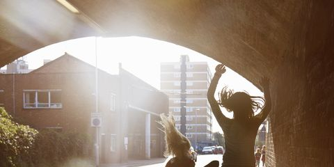 Human body, Human leg, Sunlight, Tints and shades, People in nature, Shadow, Morning, Walking, Arch, Gesture,