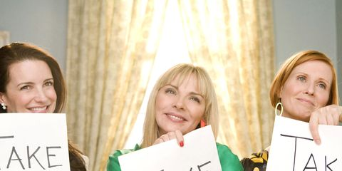 Smile, Happy, Curtain, Facial expression, Blond, Handwriting, Window treatment, Layered hair, Makeover,