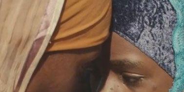 Finger, Lip, Cheek, Skin, Eyebrow, Temple, Azure, Photography, Gesture, Nail,