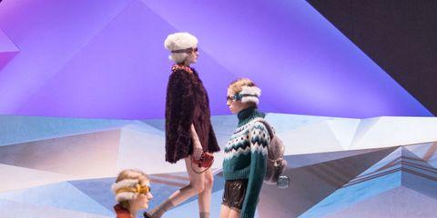 Human, Leg, Costume design, Fashion, Performance, Fur, Costume, Drama, Stage, Fashion design,