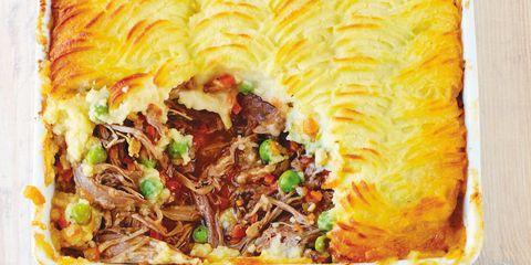 Food, Cuisine, Dish, Take-out food, Ingredient, Recipe, Tableware, Dishware, Plate, Meat,