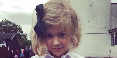 Mouth, Sleeve, Eye, Dress shirt, Collar, Child, Baby & toddler clothing, Toddler, Blond, Button,