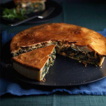 Food, Cuisine, Dish, Ingredient, Baked goods, Scacciata, Meat pie, Tourtière, Recipe, Pastilla,