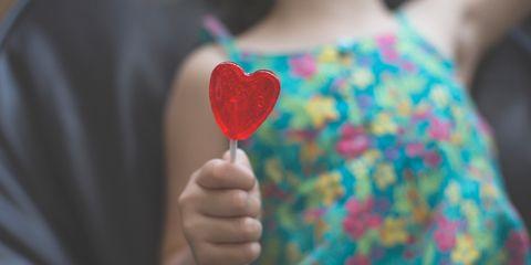 Red, Hand, Heart, Finger, Child, Love, Sweetness, T-shirt, Play, Balloon,