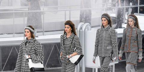 Winter, Trousers, Pattern, Coat, Outerwear, Style, Street fashion, Fashion, Snow, Grey,