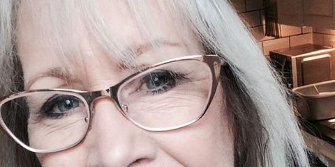 Face, Hair, Glasses, Eyewear, Tooth, Lip, Smile, Facial expression, Eyebrow, Nose,